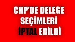 CHP Bornova'da seçimler iptal