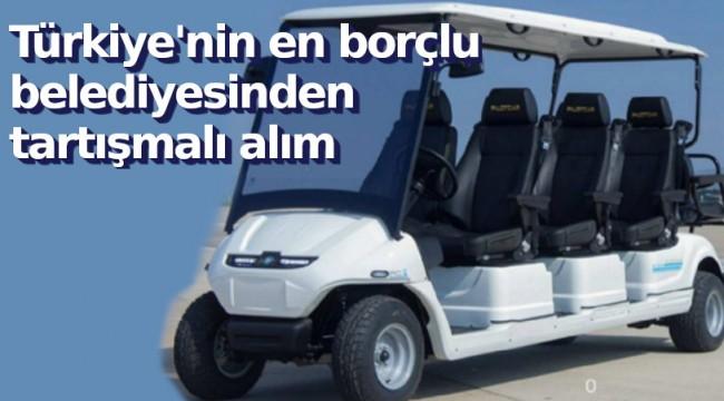 Golf sahası olmayan AKP'li belediye 270 bin liraya golf arabası aldı