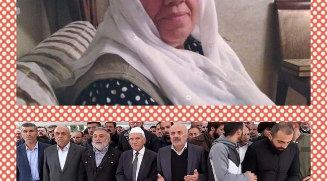 MARDİN EŞRAFINDAN MAHMUT GAZALA'NIN ANNESİ VEFAT ETTİ!
