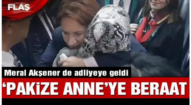 'Pakize Anne' beraat etti