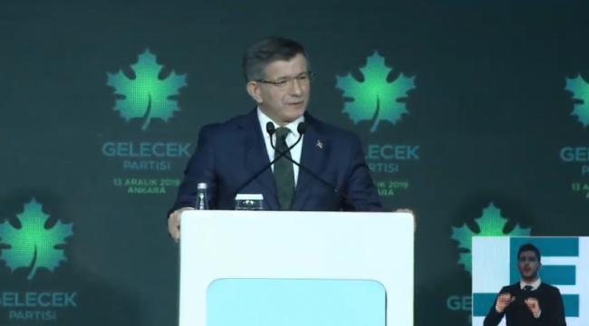 Ahmet Davutoğlu Gelecek Partisi'ni tanıttı: AKP'ye sert sözler