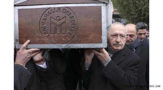 CHP Genel Başkanı Kılıçdaroğlu'nun dayısı toprağa verildi