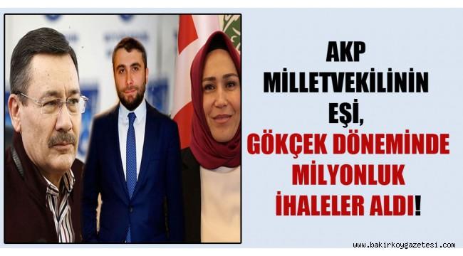 İhaleler AKP'li vekilin eşine verilmiş