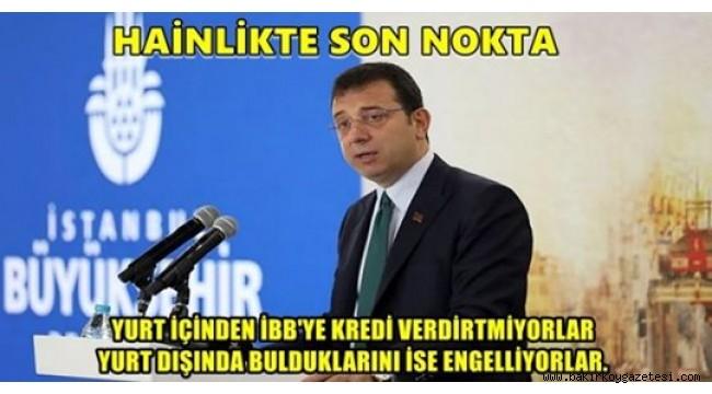 AKP , İBB BAŞKANI EKREM İMAMOĞLU'NU ÇALIŞTIRMIYOR!!!