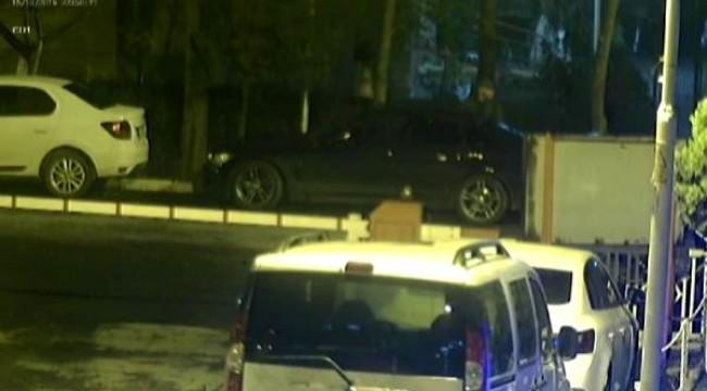 Bakırköy'de otomobillerin elektronik parçalarını çalan şüpheli kıskıvrak yakalandı