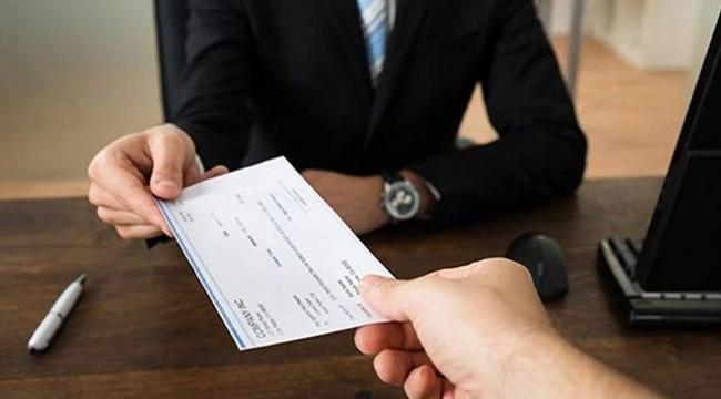 Çek karşılıksız çıkarsa banka 2.125 TL ödeyecek