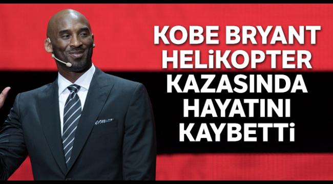 Dünyayı şoke eden haber! Kobe Bryant helikopter kazasında hayatını kaybetti…