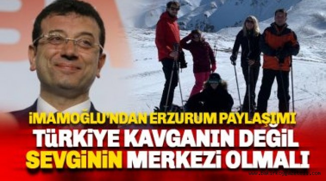 Ekrem İmamoğlu'ndan 'tatil' açıklaması