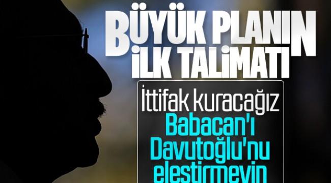 Kılıçdaroğlu'ndan Davutoğlu ve Babacan talimatı