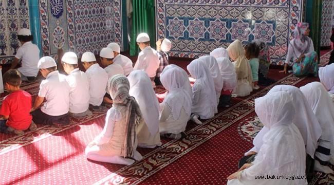 MEB 81 ile yazı gönderdi: 6-13 yaş arası öğrencilere camide puanlı hediyeli din eğitimi