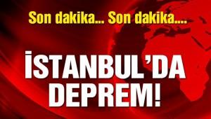 SONDAKİKA..İSTANBUL'DA DEPREM 4,7
