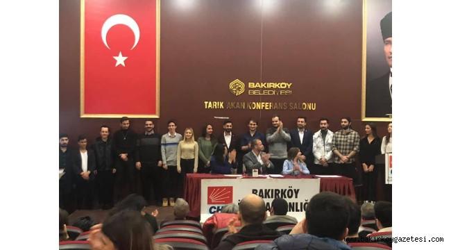 BAKIRKÖY CHP GENÇLİK KOLLARI YENİ BAŞKANI SEÇİLDİ!