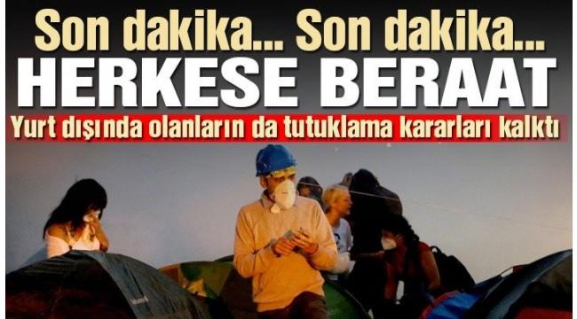 Son dakika… Gezi Parkı davasında Osman Kavala'ya tahliye kararı