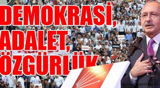 İşte CHP'nin kurultay sloganları
