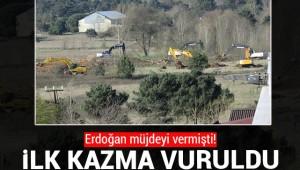 ATATÜRK HAVALİMANI SAHRA HASTANESİ ÇALIŞMALARI BAŞLADI!