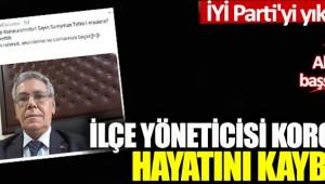 Bakırköy İYİ Parti  ilçe teşkilatı kurucularından Süleyman Tefek, Covid-19'dan hayatını kaybetti