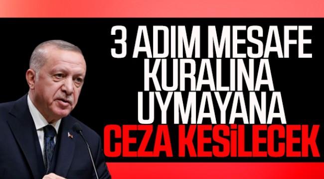 Cumhurbaşkanı Erdoğan corona virüsüyle mücadelede yeni tedbirleri açıkladı