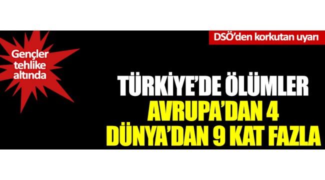 DSÖ: Türkiye'de koronadan ölümler dünyadan 9 kat fazla  Kaynak