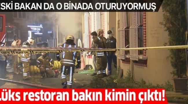 Arnavutköy'de yanan lüks restoranın sahibi 'organize suç örgütü lideri' Yakup Süt çıktı!