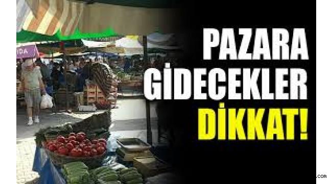 BAKIRKÖY'DE SEMT PAZARLARININ GÜNLERİ BELLİ OLDU!