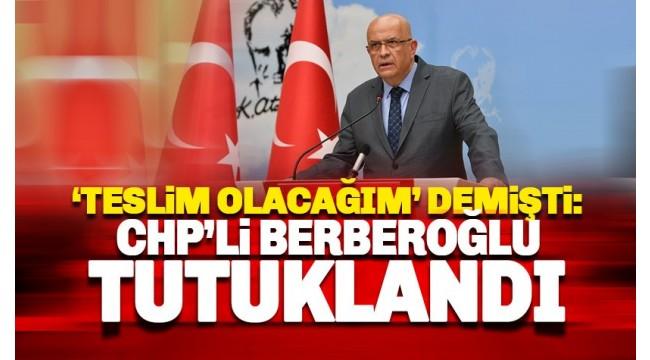 Bakırköy'de Milletvekilliği düşürülen Enis Berberoğlu tutuklandı