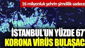 Tehlikenin Farkında mısınız? İstanbul'un yüzde 67'sine korona virüs bulaşacak ki...