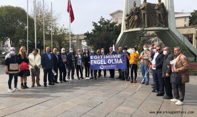 GÖZDER, 15 Ekim Beyaz Baston Dünya Görme Engelliler gününü kutladı