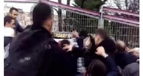 """BAKIRKÖYDE PROVAKASYON """"HAYIR """"KAMPANYASINA SALDIRI"""