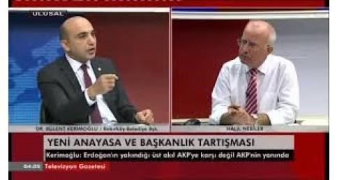 """BÜLENT KERİMOĞLU  13 NİSAN 2017 ,ULUSAL KANAL """" BAŞKANLIK SİSTEMİ"""""""